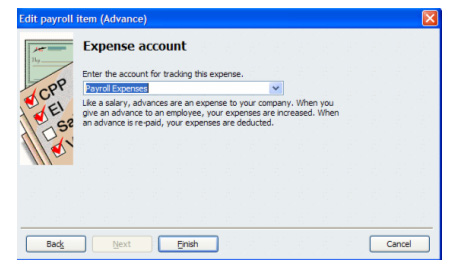 Payroll Expenses in Quickbooks